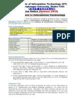 PMIT Admission Brochure- Summer 2019