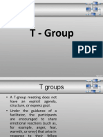 T-Groups
