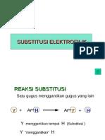 subtitusi elektrofilik