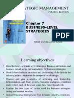 Chap7 Business-level Strategies
