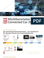 AUTO BILD Marktbarometer Connected Car 2018