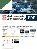 AUTO BILD Marktbarometer Connected Car 2018