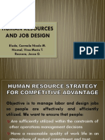 Human Resources and Job Design