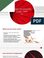 Asian Economic Crisis 1997
