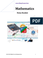 D mathematics Notes Booklet.pdf