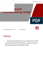 LTE RF Channel Troubleshooting Guide - Huawei
