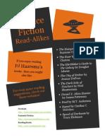 PJ Haarsma Read-Alikes