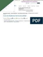 Curso de Auditorías interna