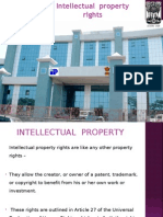 Intellectual Property Rights  2011
