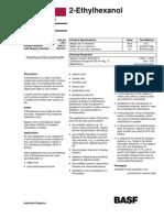 2 Ethhexanol Specifications