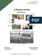 'Guargum Industry - Fracking Essential'