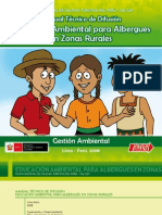 Educacion Ambiental Para Albergues en Zonas Rurales