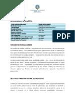 Plan de Carrera Gastronomia[1]