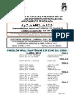 DEPORTE | El DXT de Coslada / 6 y 7 de abril