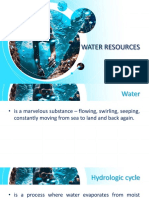 Water Resources and Pollution