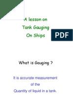 Tank Gauging