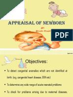 Newborn Appraisal Benita