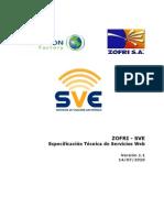 Sve Especificacion Tecnica Web Services