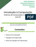 2. Sistemas e Linguagens