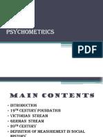 Psychometrics Pp t