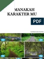 Test Psikologi Gambar Jalan Hutan