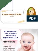 10.3 Manaj. FT Pes Equinus Varus dan Valgus.ppt