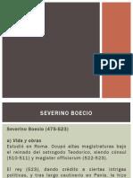 Severino Boecio