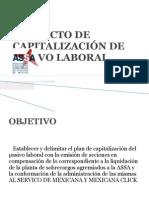 PROYECTO DE CAPITALIZACIÓN DE PASIVO LABORAL
