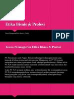 Etika Bisnis & Profesi Ppt