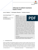 Adapting psychotherapy to patient reactance a metanalysis 2018.pdf