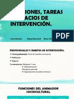 FUNCIONES, TAREAS Y ESPACIOS DE INTERVENCIÓN.pptx