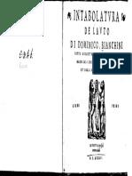 Bianchini D.  Intabolatura  de lauto. Libro Primo.pdf