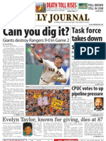 1029 issue of the Daily Journal
