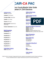 San Francisco County Muslim Voter Guide