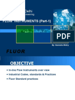 Flow Instruments Part 1