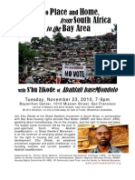 Right to Place and Home Flyer