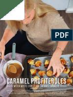 Jackie Cameron - Caramel Profiteroles Recipe
