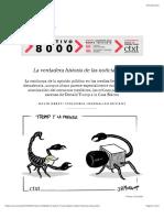 Uberti D (2017) La verdadera historia de las noticias falsas | ctxt.es