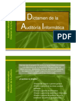 Dictamen Informe Auditoria