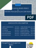 PROSES MANAJEMEN RISIKO KELOMPOK 5 TK IIA.ppt
