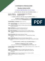 Final Conference Program - ICMTEA2013