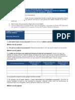Formato presentación de un proyecto