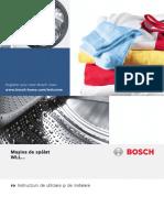 Manual masina de spalat Bosch