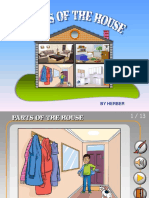 Parts of the House Ppt Flashcards Fun Activities Games Games Picture Desc 51437