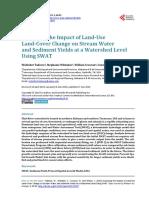 LULC Flint Watershed USA PAPER