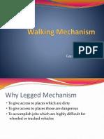 Walking Mechanism