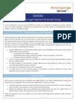 Summary_Identifying Target Segment & Market Sizing.pdf