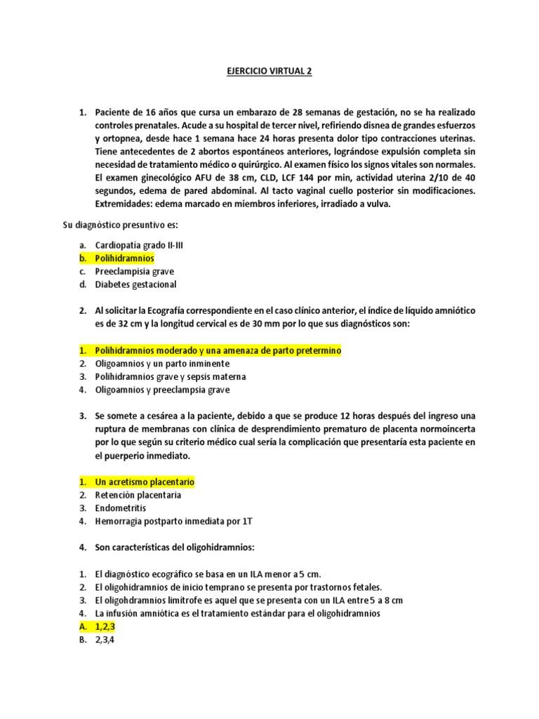 diabetes mellitus gestacional y polihidramnios