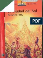 La Ciudad Del Sol Macarena Fabry