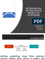 Outsourcing of Insurance Products-1